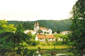Die Ortschaft Furnas
