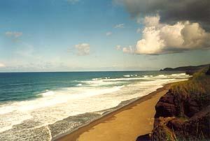Strand bei Ribeira Grande