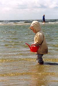 Ein perfekter Tag an der Nordsee.