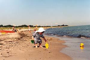 """""""Ruhetage"""" am Meer von Ulshave"""