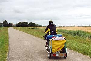 Radeln in der friesischen Weite