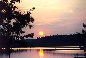 Der Rothsee im Abendlicht