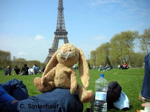 Hase Felix in Paris