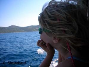 Ein Bootsfahrt, die ist schön.