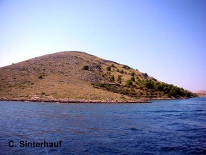 Eine Insel der Kornaten