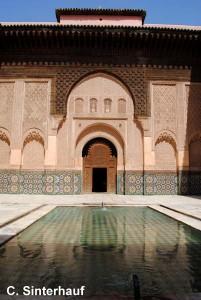 Ehem. Koranschule in Marrakesch