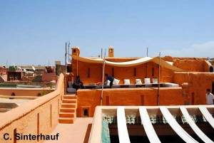 Cafe im Herzen von Marrakesch