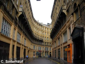 In den Straßen von Budapest