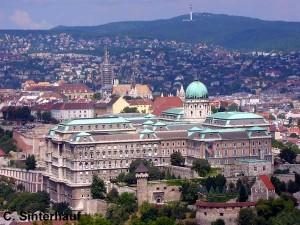 Blick auf den Burgpalast