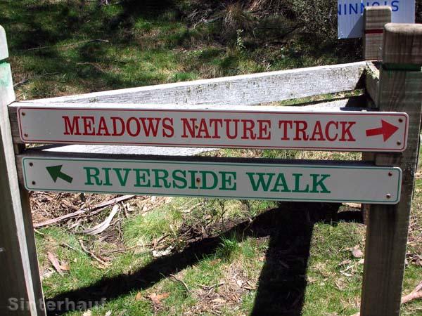 Wanderwege im Nationalpark