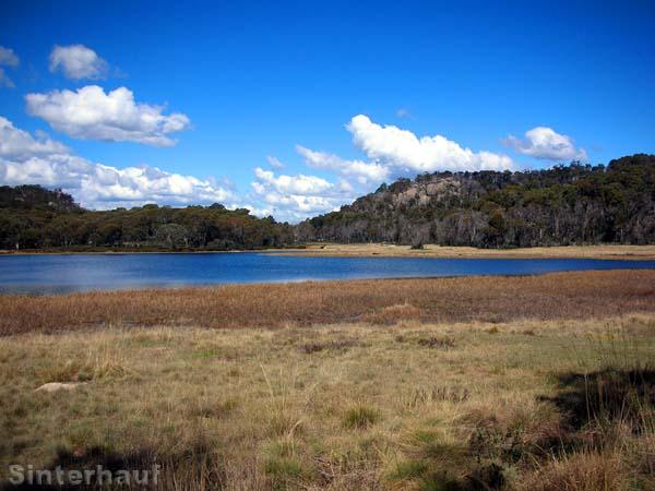 Unterhalb des Horn gibt es einige Seen