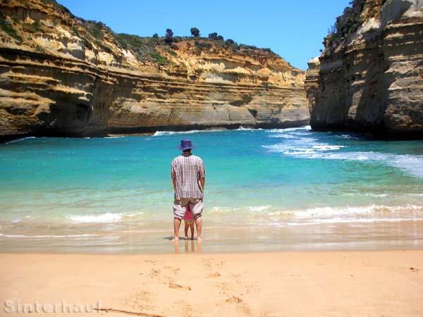 Wunderschöne Küste im Süden Australiens