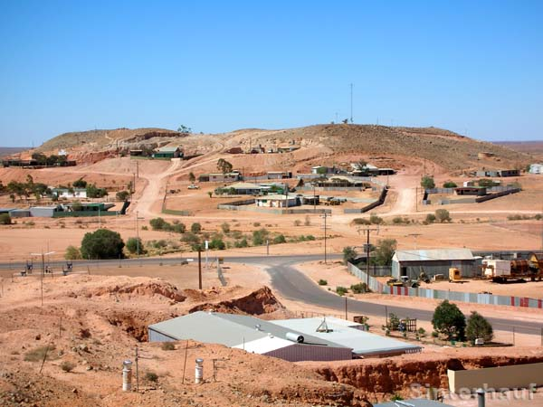 Coober Pedy bei Tage