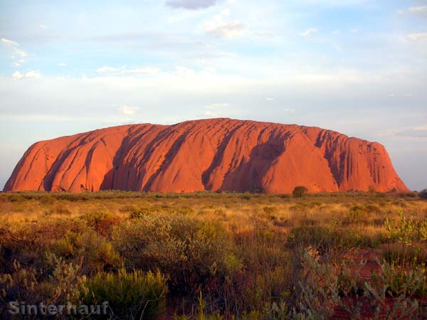 Der Uluru (Ayers Rock)