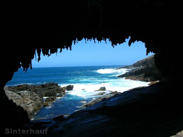 Der Admirals Arch ist eine Art Tropfsteinhöhle.