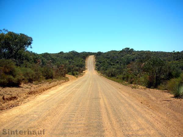 Im Landesinneren von Kangaroo Island