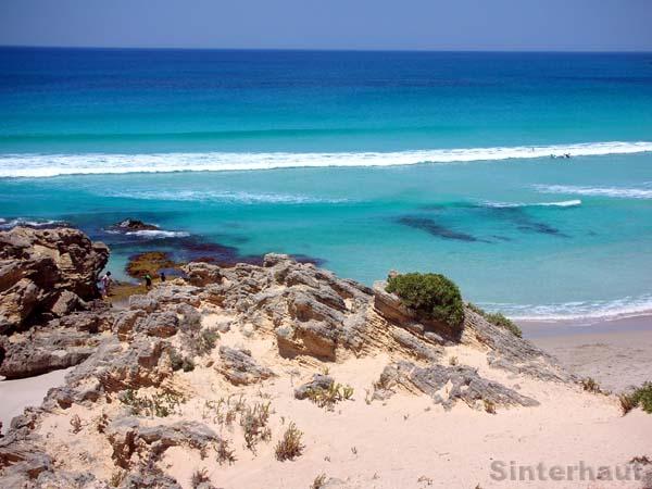 Einsame Strände auf Kangaroo Island