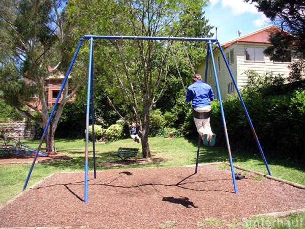 Riesenschaukel in Katoomba