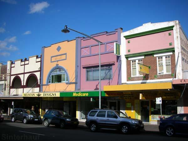 Häuser in Katoomba
