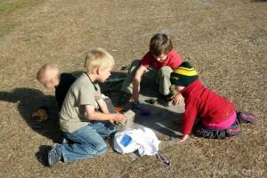 Kinder unter sich haben immer Spaß.