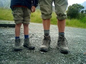 Gute Schuhe braucht der Wanderer