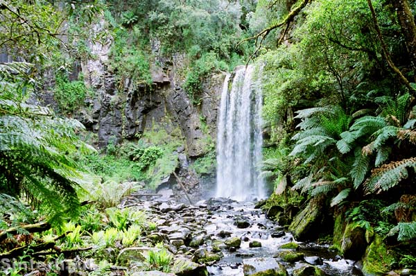 Die Beaucramp Falls im Nationalpark.