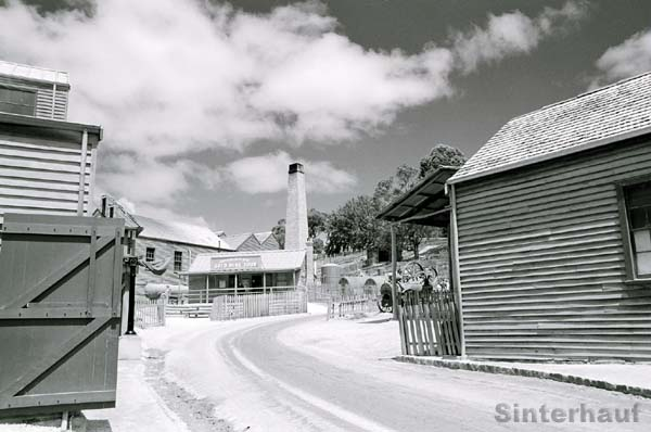 Straßen in Sovereign Hill