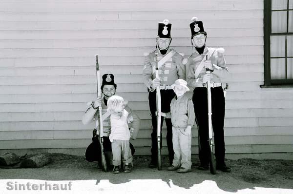 Historisches Fotoshooting.