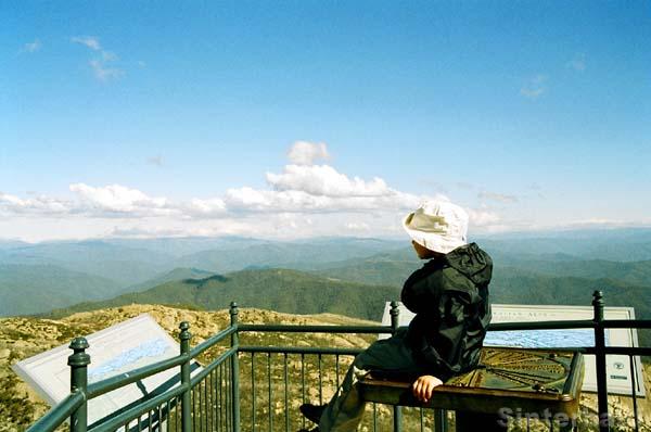Auf dem Gipfel von The Horn