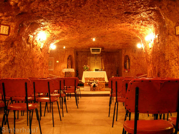 Höhlenkirche in Coober Pedy