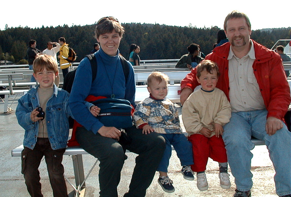 Familie Reichert damals ...
