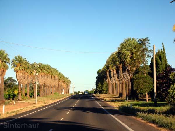 Straße in Broken Hill