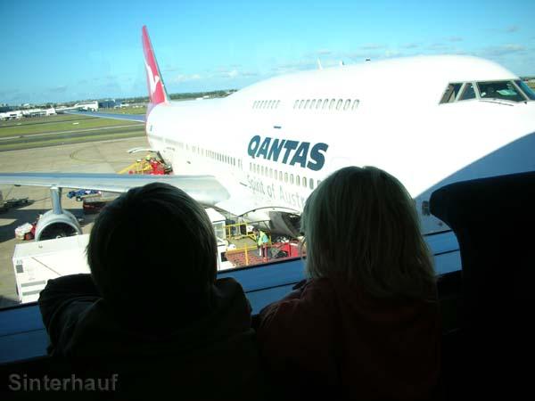 Abschied von Australien.