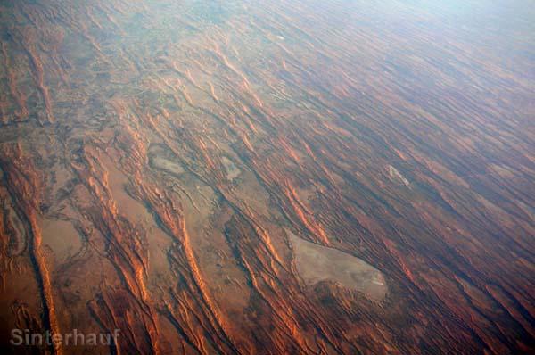 Australien von oben.