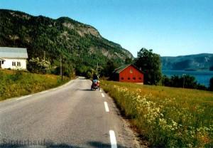 Radeln in Norwegen