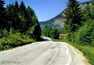 Straße durchs Setesdal