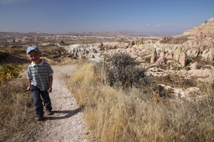 Wandern mit Kindern in der Türkei