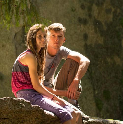 Wanderführer und Kletterer Michael Feigel