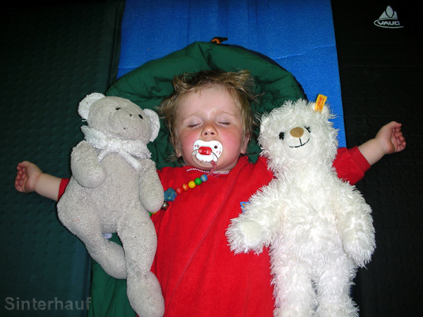 Sleeping with friends!