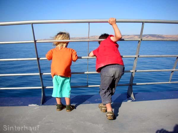 Bitte an Bord bleiben!