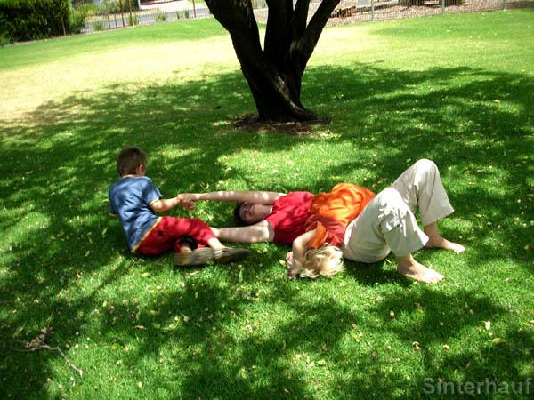 Mit kleinen Kindern kann man immer Spaß haben!