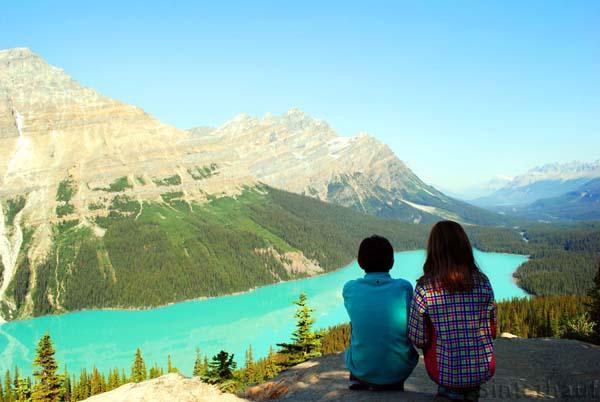 Ältere Kinder erkennen die Schönheiten und Beweggründe des Reisens!