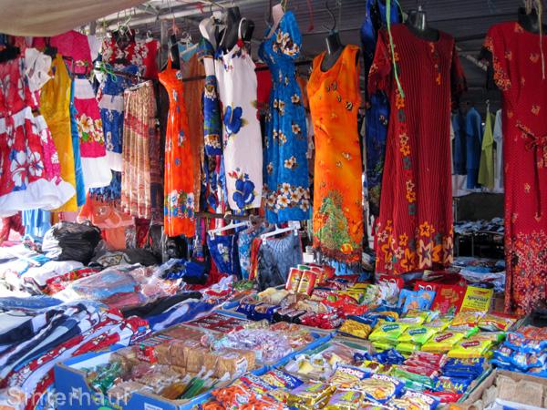 Die bunte Welt der Waren in Le Bazar