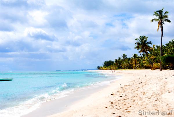 Strand bei Flic en Flac