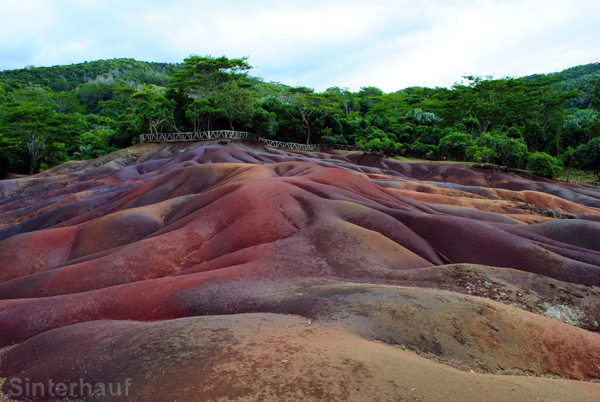Die farbige Erde von Chamarel