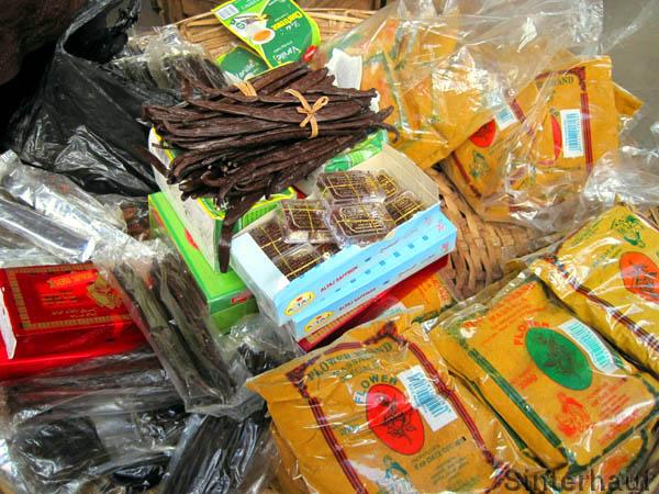 Indische Gewürze und kostbare Vanille