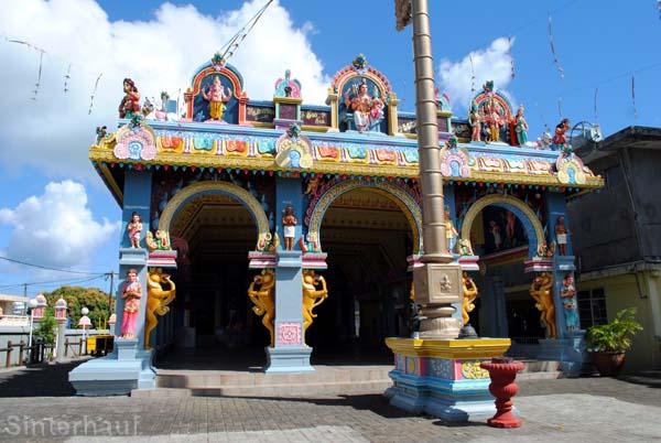 Der Shivala Tempel in Brand Baie