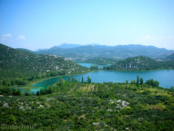 Inland im Süden Kroatiens