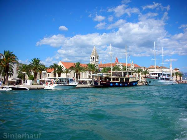 Das Museumsstädtchen Trogir