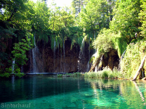 Im Nationalpark Plitwitzer Seen